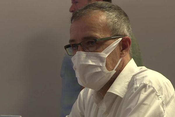 Discret depuis les dernières élections territoriales, Jean-Guy Talamoni était présent ce samedi à Corte.