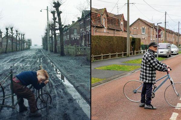 Entre ceux deux photos, 54 ans ont passé