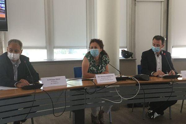 Une conférence de presse a eu lieu ce jeudi au CHU de Grenoble pour présenter un nouveau projet de reprise.
