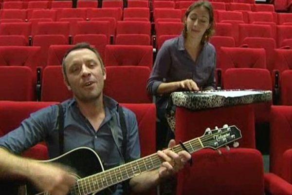 Jules et Jeanne Plante sont en concert à Mézidon-Canon. L'équipe de LOCB les a rencontrés.