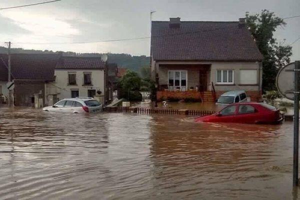 Photo d'illustration : inondations à La Comté, mardi 7 juin.