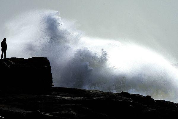 Image d'ilustration des vents violents sur les côtes.