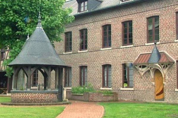 La maison des Compagnons du Devoir à Mont-Saint-Aignan près de Rouen