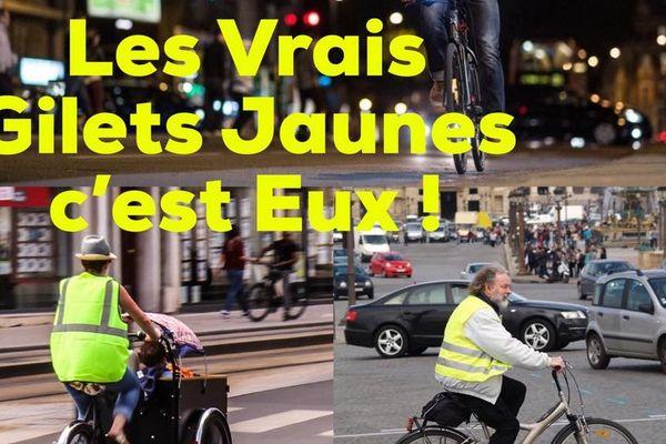Sur les réseaux sociaux, les initiatives pro-cyclistes se multiplient.... timidement