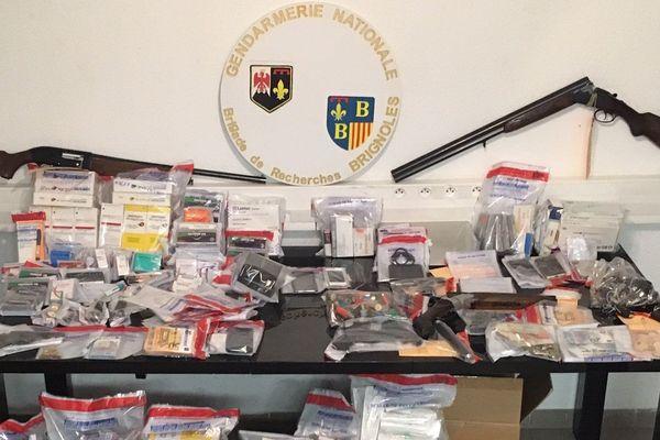 La gendarmerie du Var a démantelé un trafic de produits anabolisants mardi 15 octobre.