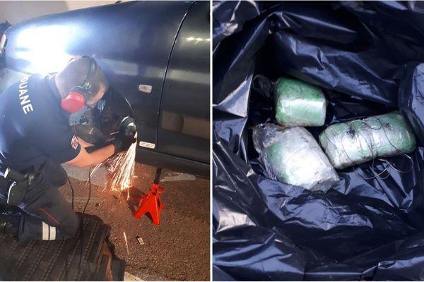 Les douaniers de Modane ont mis la main sur 1,3 kilos de cocaïne dissimulé dans une camionnette.