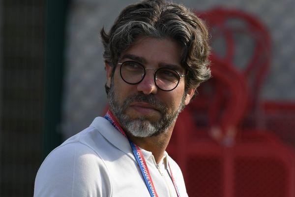 Juninho, le directeur sportif de l'Olympique Lyonnais. Ce dernier vient d'être sanctionné par la commission de discipline de la Ligue de Football Professionnel. Image archives