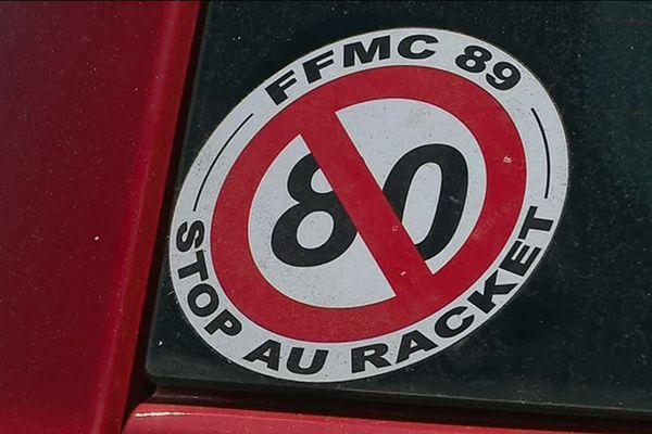 La Fédération française des motards en colère est vent debout contre l'abaissement de la vitesse de 90 à 80 km/h