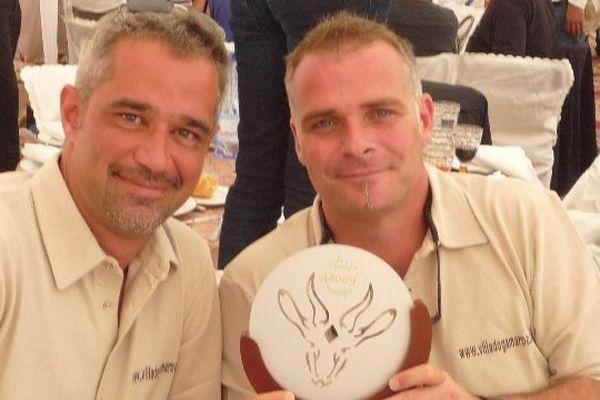 Sacha Doligé et Pascal Gaillères
