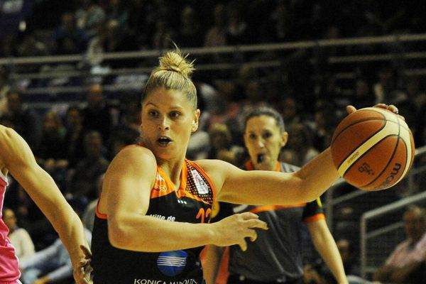 Johannah Leedman (Bourges) a marqué 11 points ce mercredi soir au Prado face à Orenbourg