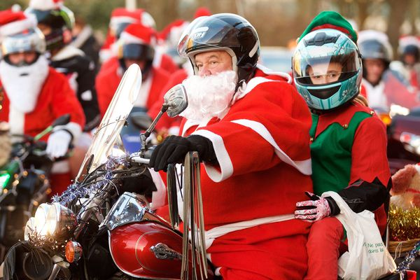 Les pères Noël motards sillonneront les routes samedi 22 décembre.