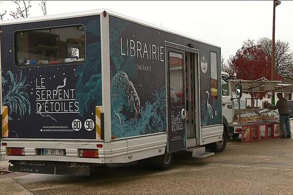 La librairie itinérante de Margaux Segré en Charente-Maritime