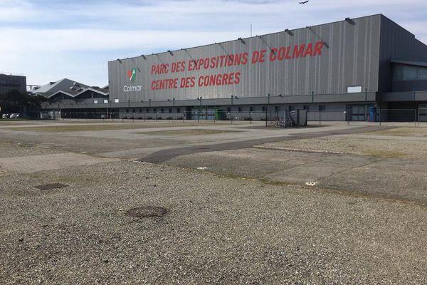 Le parc des expositions de Colmar restera vide cette année encore, pour cause de covid