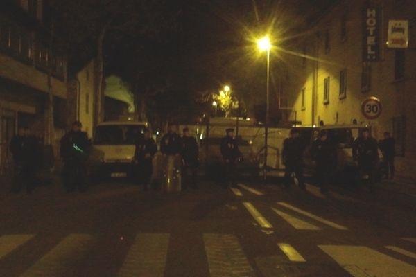 La reconstitution a eu lieu ce jeudi soir à Millau