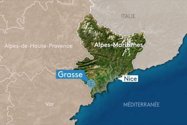 Une explosion a eu lieu à Grasse, mardi 12 février 2019 vers 17 heures.