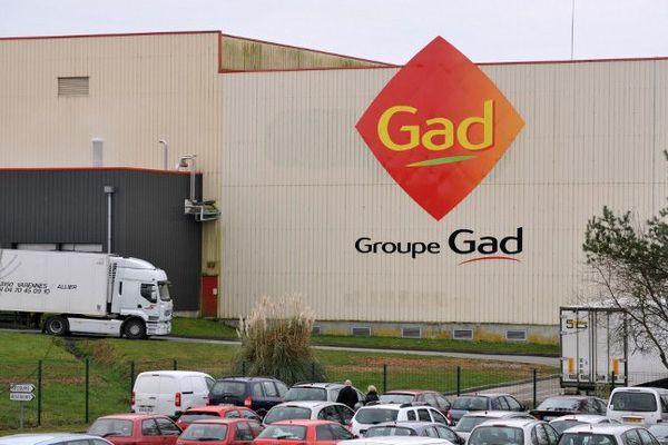 Le site de Gad SAS à Josselin