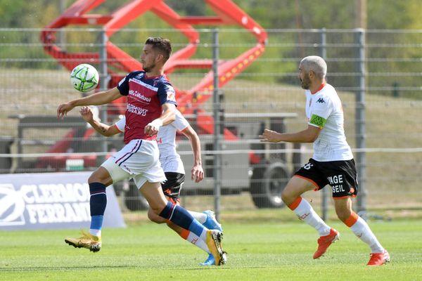 Adrian Grbic lors du match Clermont/Lorient le 14 septembre 2019.