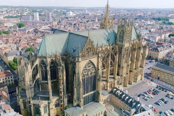 La cathédrale de Metz possède la plus grande surface de vitraux en Europe