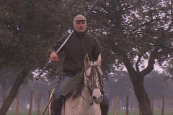 Jean-Pierre Odet, mayoral des ganaderías Concha y Sierra et Cura de Valverde. Lui et ses toros sont dans Signes du toro 111.