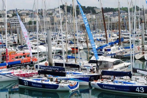 La flotte s'élancera à 14H30 du Port Hérel à Granville