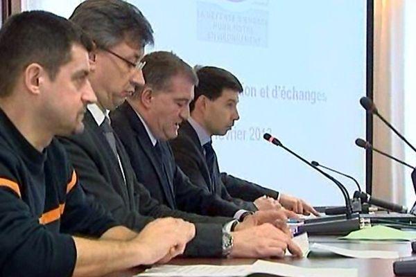Réunion de présentation du projet SECOIA à Troyes (14/02/2013).
