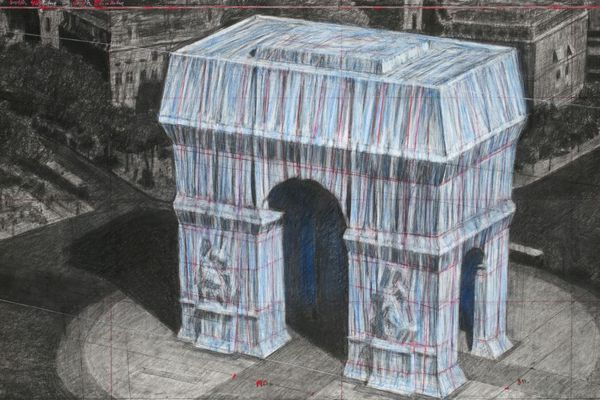 Du 6 au 19 avril 2020, le plasticien Christo va empaqueter l'Arc de Triomphe, pour former une œuvre éphémère.