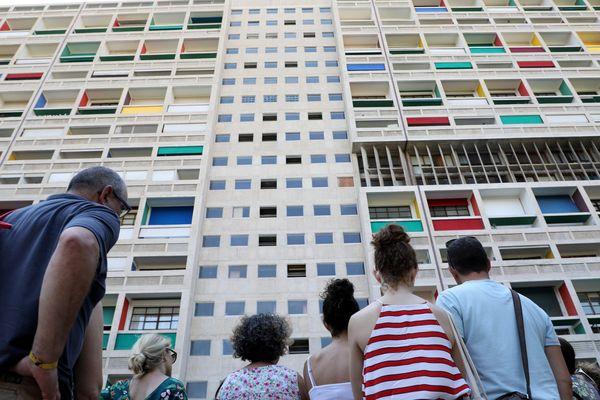 La cité radeuse de Le Corbusier, monument emblématique de Marseille.