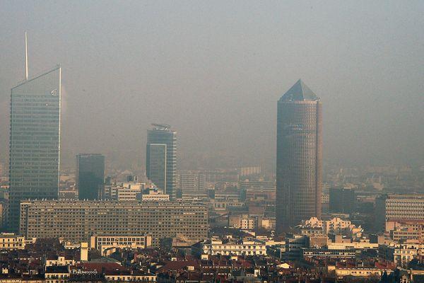 Episode de pollution à Lyon - Image d'illustration