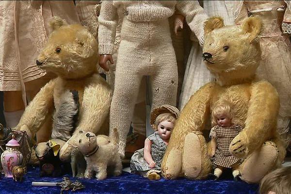 Des Teddy bear très anciens