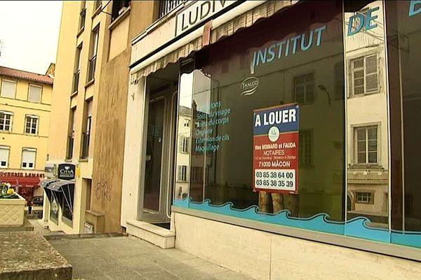 De nombreux commerces ferment dans le centre de Mâcon