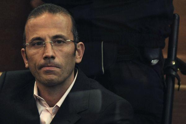 Jacques Mariani à l'ouverture de son procès devant la cour d'assises des Bouches-du-Rhône, le 25 février 2008