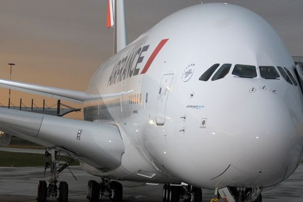 Un des A380 d'Air France