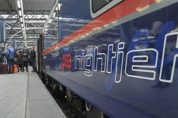 Le premier train de nuit reliant l'Autriche et la Belgique est arrivé ce lundi matin à Bruxelles.