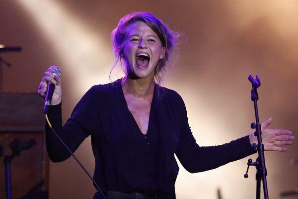 La Belge Selah Sue, en juillet 2014, au Monte Carlo Summer Festival.