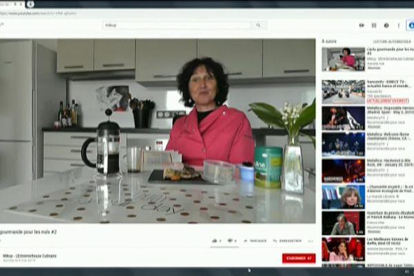 Anne Sallé, entremetteuse culinaire en ligne.