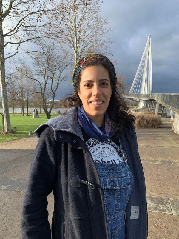 Léa vient d'emménager à Kehl et elle a déjà remarqué certaines odeurs le long du Rhin