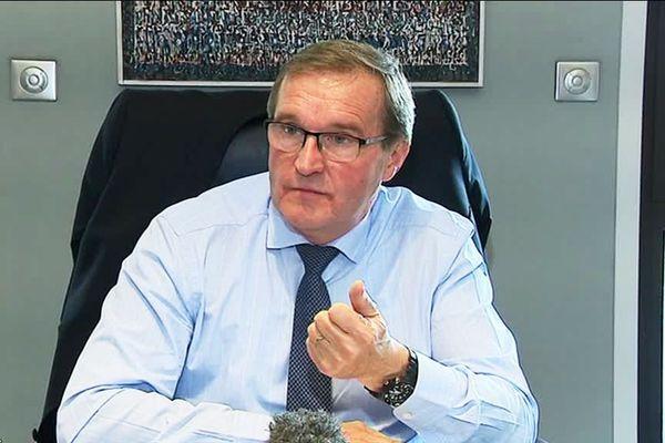 Le président du conseil départemental de Dordogne Germinal Peiro.