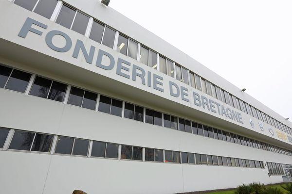 La Fonderie de Bretagne a été touchée par un incendie. L'usine connaît désormais une activité partielle.