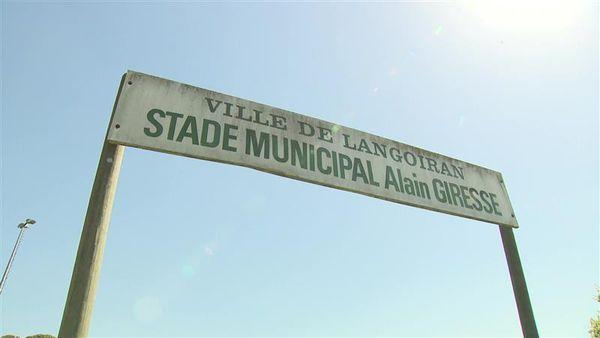 Le stade de Langoiran porte le nom d'Alain Giresse