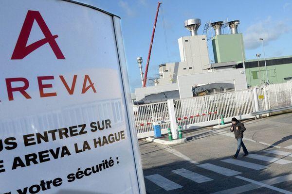 L'usine Areva de retraitement des déchets de la Hague, dans le Cotentin