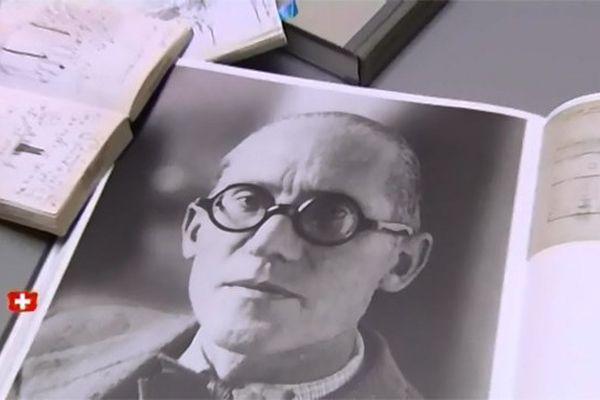 """Charles-Édouard Jeanneret dit """"Le Corbusier""""."""