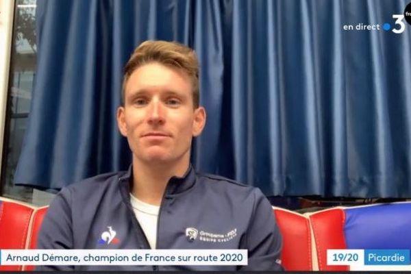 Le Picard Arnaud Démare mènera l'équipe de France dans le championnat d'Europe (24-28 août)