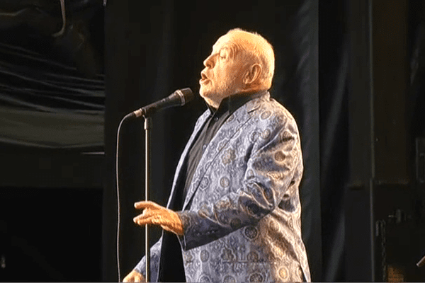 Le dernier concert de Joe Cocker en Bretagne