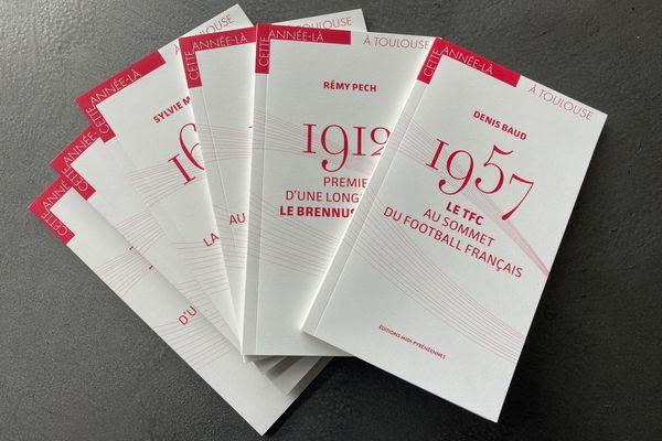 """La collection """"cette année-là à Toulouse"""" aux éditions Midi-Pyrénéennes"""
