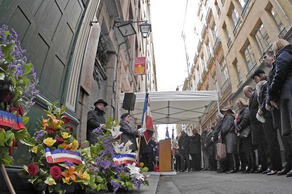 La commémoration du 9 février 2014