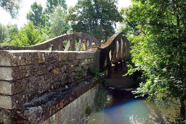 Construit dans les années 20, le pont de Béduer présente de nombreuses dégradations