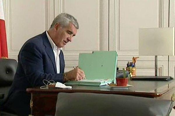 Le maire de Tarbes Gérard Trémège a été désigné tête de liste des Républicains dans les Hautes-Pyrénées pour les prochaines régionales