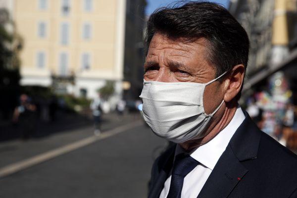 Christian Estrosi, maire de Nice, le 25 juillet 2020