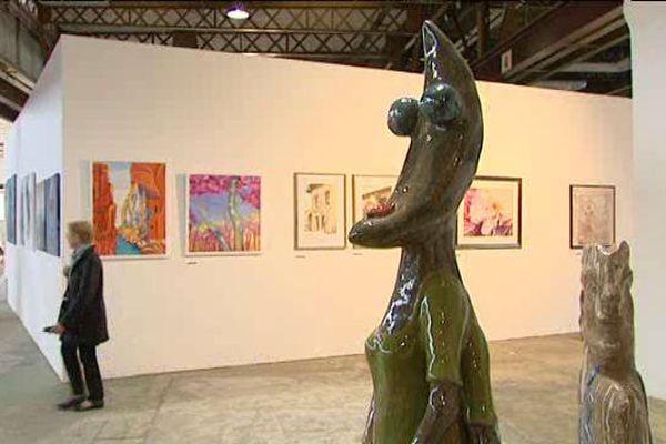 500 oeuvres sont à voir sur le site Alstom, de la peinture au dessin de presse, en passant pas la sculpture.