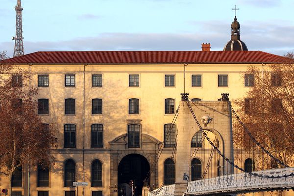 Lycée Ampère - Lyon 2e (archives)